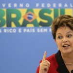 22. Dilma Rousseff a succédé au président Lula en 2010. Elle suit globalement la même ligne politique que son mentor.