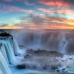 Les chutes d'Iguaçu sont parmi les plus grandes au monde.