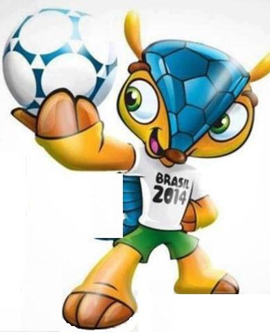 Fuleco la mascotte de la coupe du monde 2014 brasil - La mascotte de la coupe du monde 2014 ...